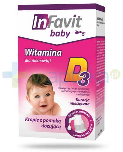 InFavit Baby witamina D3 krople 9 ml