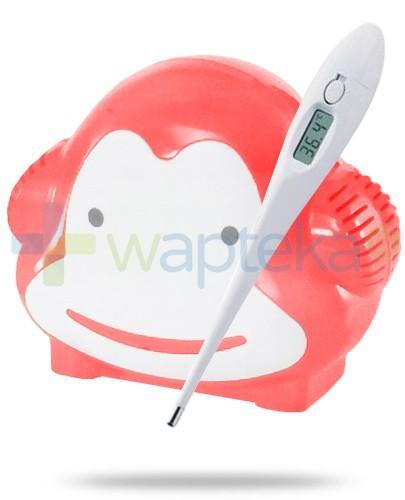 Soho Nimo Małpka inhalator tłokowy 1 sztuka + termometr cyfrowy z alarmem GRATIS - [WYPRZEDAŻ]