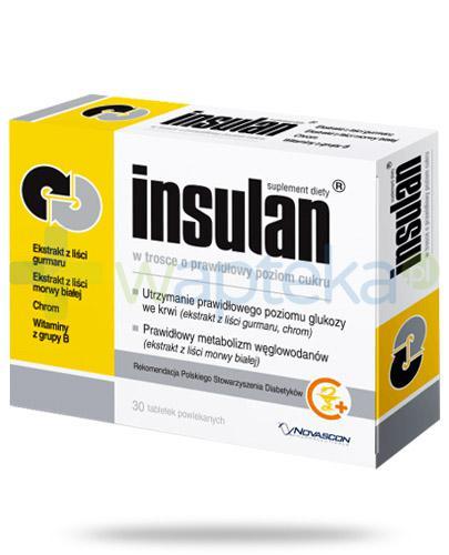 Insulan 30 tabletek powlekanych