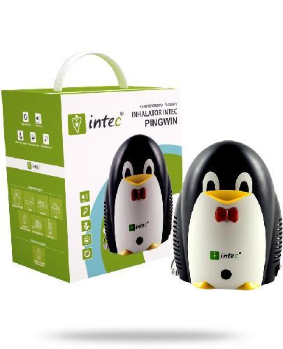 Intec Pingwin inhalator dla dzieci tłokowy 1 sztuka