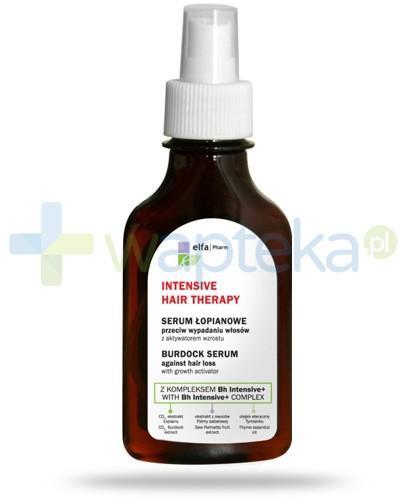 Intensive Hair Therapy Serum łopianowe do włosów z kompleksem Bh Intensive + przeciw wypadaniu włosów z aktywatorem wzrostu 100 ml Elfa Pharm