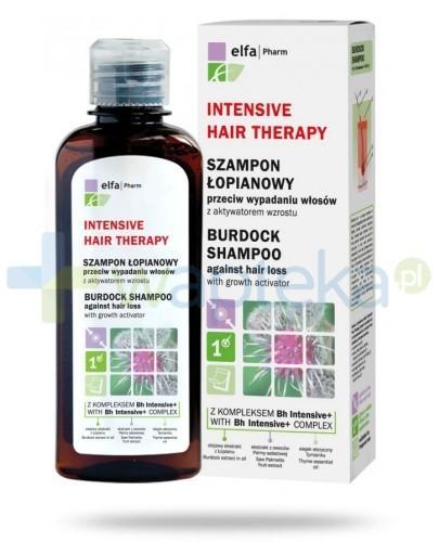 Intensive Hair Therapy Szampon łopianowy do włosów z kompleksem Bh Intensive + przeciw wypadaniu włosów z aktywatorem wzrostu 200 ml Elfa Pharm