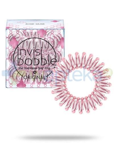 INVISIBOBBLE Gumki do włosów Rose Muse różowe 3 sztuki
