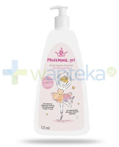 Ipharm ProFeminal Girl żel do higieny intymnej dziewczynek 3-13 lat 125 ml