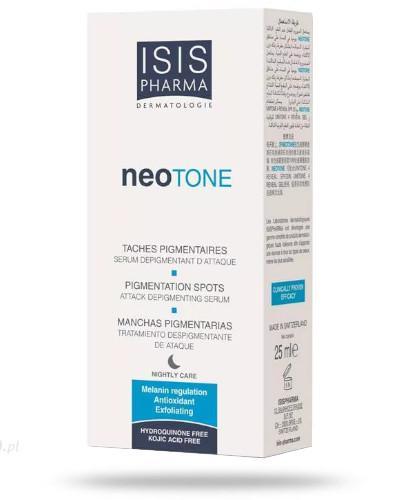 ISIS Neotone Serum na noc likwidujące przebarwienia skóry 25 ml