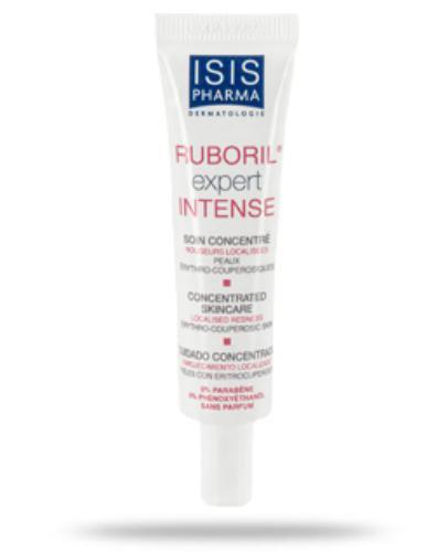 Isis Ruboril Expert Intense krem kojąco łagodzący do skóry naczynkowej i trądziku grudkowo krostkowego 15 ml
