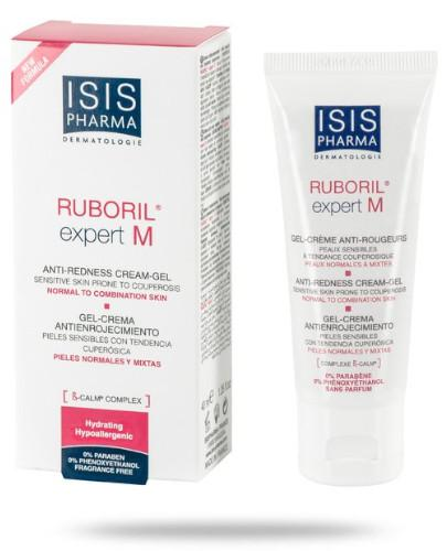 Isis Ruboril Expert M krem do skóry naczynkowej ze skłonnością do rumienia cera mieszana i normalna 40 ml