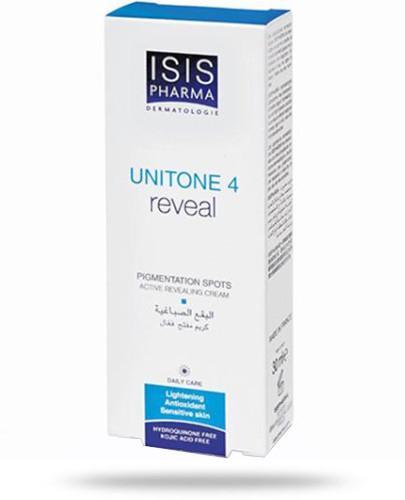 Isis Unitone 4 Reveal krem rozjaśniający przebarwienia skóry z Alfa Arbutyną 30 ml