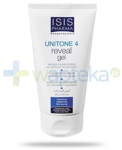 Isis Unitone 4 Reveal żel złuszczająco oczyszczający do mycia twarzy rozjaśniający przebarwienia 150 ml