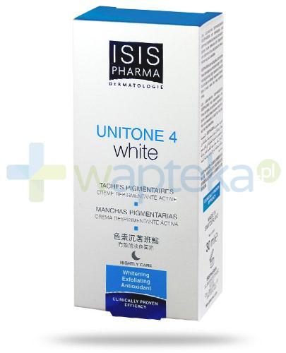 Isis Unitone 4 White krem likwidujący przebarwienia skóry na noc 30 ml