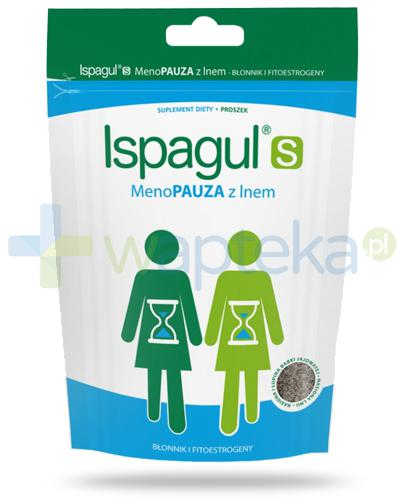 Ispagul S Menopauza z lnem, proszek 200 g