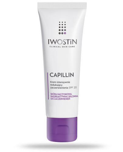 Iwostin Capillin krem intensywnie redukujący zaczerwienienia SPF20 40 ml