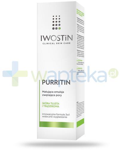 Iwostin Purritin matująca emulsja zwężająca pory 40 ml