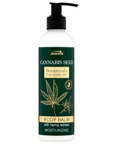 Joanna Botanicals Cannabis Seed Body Balm, nawilżający balsam do ciała z ekstraktem z konopi 240 g
