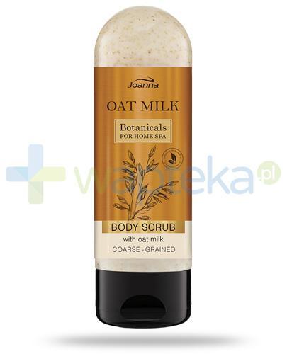 Joanna Botanicals Oat Milk Body Scrub, gruboziarnisty peeling do ciała z mleczkiem owsianym 200 g