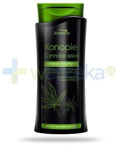 Joanna Konopie szampon nawilżająco-wzmacniający 400 ml