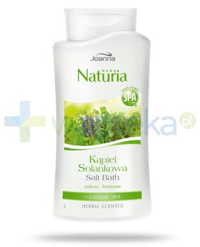 Joanna Naturia Body kąpiel solankowa jodowo-bromowa o zapachu ziół 500 ml