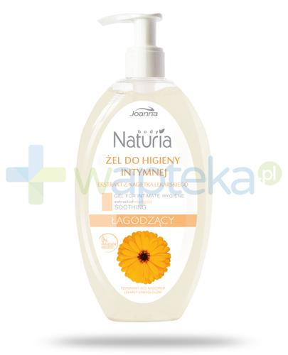 Joanna Naturia Body żel do higieny intymnej łagodzący z nagietka 300 ml