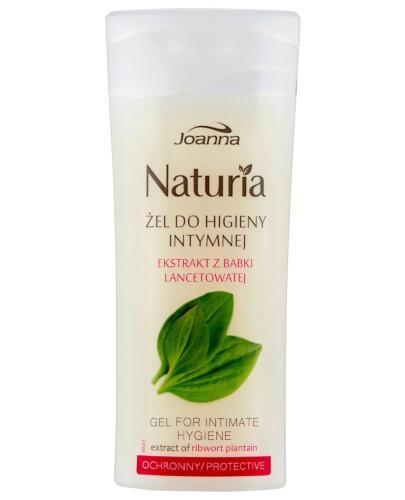 Joanna Naturia Body żel do higieny intymnej ochronny z babki lancetowatej 100 ml
