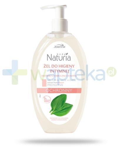 Joanna Naturia Body żel do higieny intymnej ochronny z babki lancetowatej 300 ml