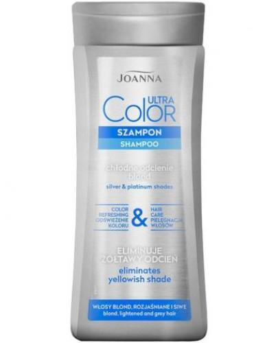 Joanna Ultra Color System szampon eliminujący żółtawy odcień włosów 200 ml