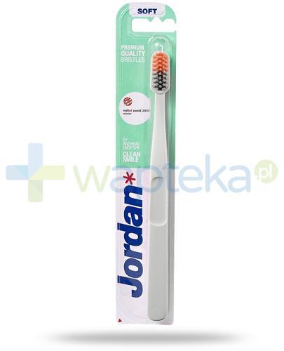Jordan Clean Smile Soft szczoteczka do zębów 1 sztuka