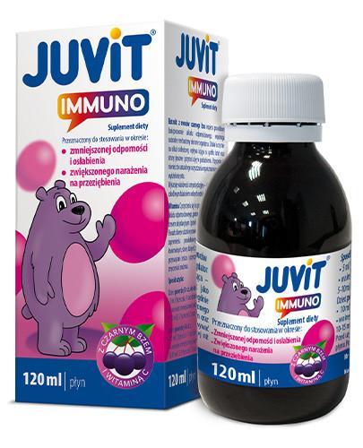 Juvit Immuno płyn 120 ml