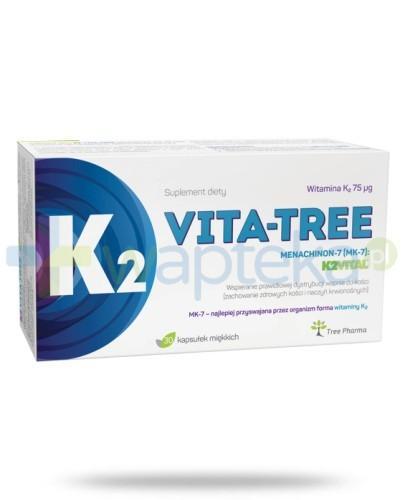 K2 Vita-Tree MK-7 0,075mg 30 kapsułek