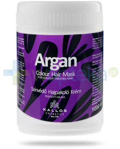 Kallos Argan maska chroniąca kolor włosów farbowanych 1000 ml