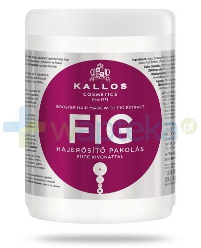 KALLOS FIG Wzmacniająca Maska do włosów z wyciągiem z fig 1000 ml