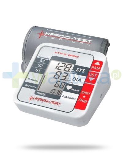 Kardio-Test KTA-3 Basic ciśnieniomierz automatyczny naramienny 1 sztuka