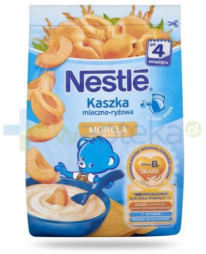 Kaszka mleczno-ryżowa Nestlé morela po 4 miesiącu 230 g