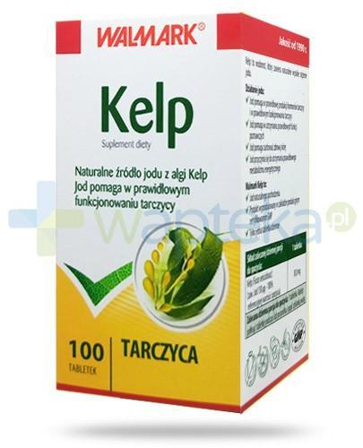 Kelp Tarczyca jod pochodzenia naturalnego 100 tabletek