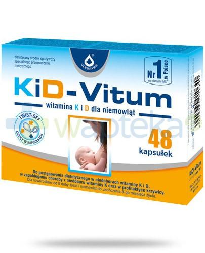 KiD-Vitum witamina K i D dla niemowląt 48 kapsułek