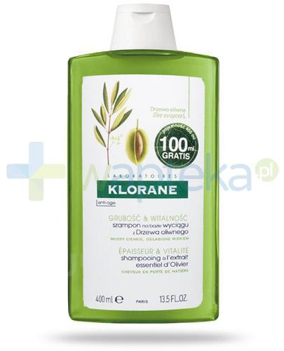 Klorane Anti-Age szampon na bazie wyciągu z drzewa oliwnego 400 ml
