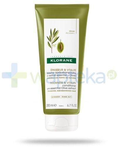 Klorane balsam do włosów na bazie wyciągu z drzewa oliwnego 200 ml