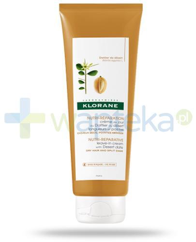 Klorane balsam odżywczo naprawczy do włosów na bazie wyciagu z drzewa egipskiego 200 ml