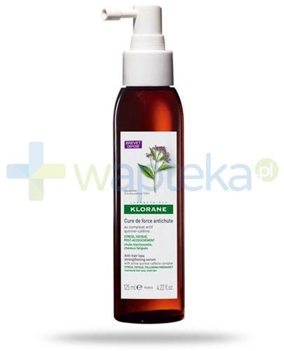 Klorane Cure De Force Antichute kuracja przeciw okresowemu wypadaniu włosów dla kobiet 125 ml
