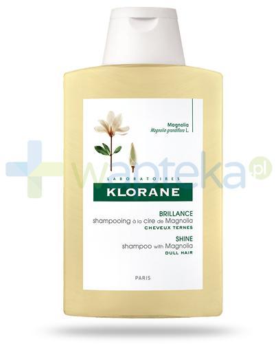 Klorane Połysk szampon na bazie wosku z magnolii 200 ml