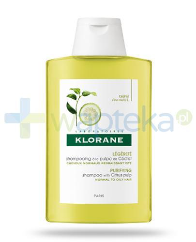 Klorane szampon na bazie wyciągu z cedratu 200 ml