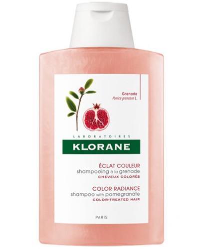 Klorane szampon na bazie wyciągu z granatu 400 ml