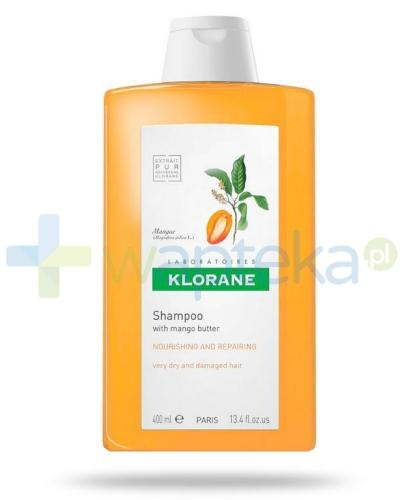 Klorane szampon na bazie wyciągu z mango 400 ml