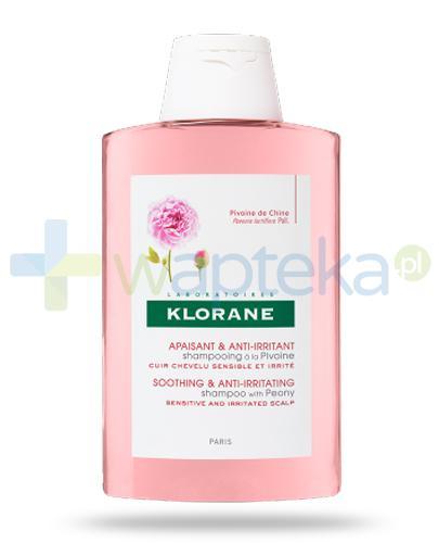 Klorane szampon na bazie wyciągu z piwonii 200 ml