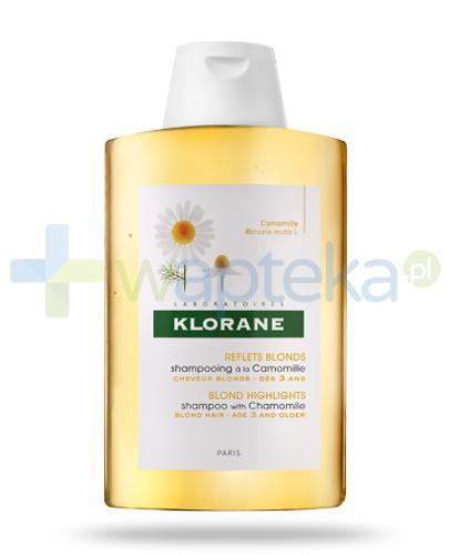 Klorane szampon rozjaśniający na bazie wyciągu z rumianku 200 ml