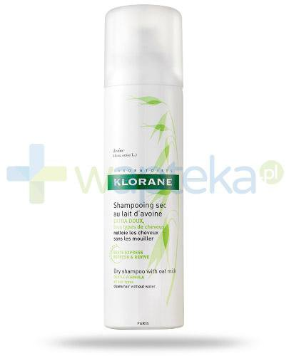 Klorane suchy szampon na bazie mleczka z owsa 50 ml