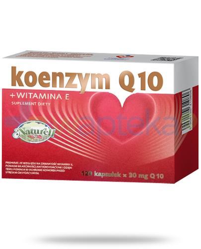 Koenzym Q10 30mg + witamina E 120 kapsułek