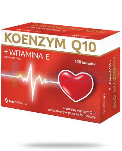 Koenzym Q10 + witamina E 120 kapsułek Xenico