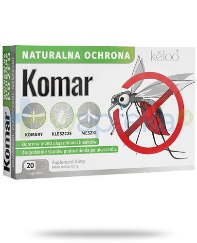 Komar naturalna ochrona przeciw owadom 20 kapsułek