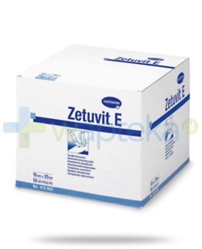 Kompresy ZETUVIT E jałowe 10 x 10 cm 25 sztuk - NIELOT