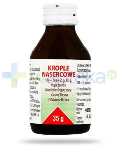 Krople nasercowe (50 g + 25 g + 25 g)/100g 35 g Hasco